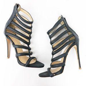 GIUSEPPE ZANOTTI Coline Caged Heels 39.5 / 9.5